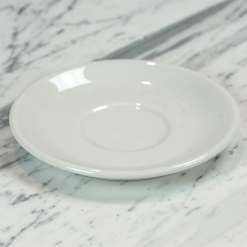 Standard White Large Saucer