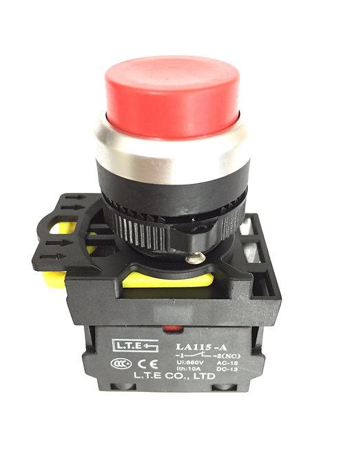 Nhấn nhả không đèn Ø 22 (loại phẳng) LA115-A5 series