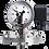 Thumbnail: Đồng hồ áp suất (tiếp điểm điện) P571, P572