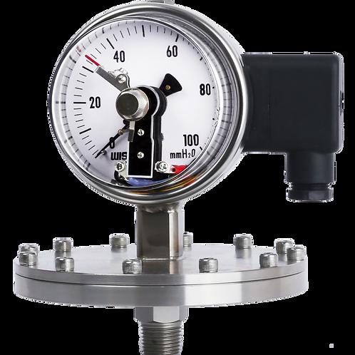Đồng hồ áp suất (tiếp điểm điện) P571, P572