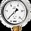 Thumbnail: Đồng hồ áp suất (dầu) WISE P259 (vỏ inox chân đồng)