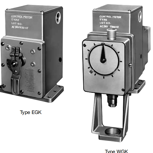 Damper & Valve Motor Actuators EGK & WGK