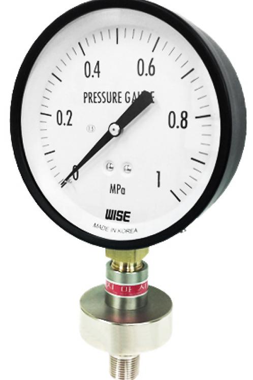 Đồng hồ áp suất màng P170 (màng inox, kết nối ren)