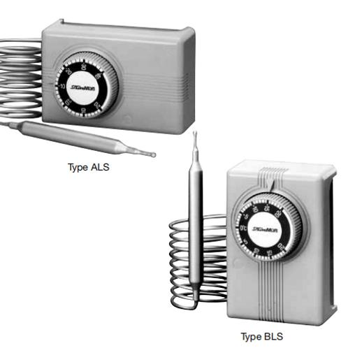 Bộ ổn nhiệt (Công tắc nhiệt) ALS & BLS-series