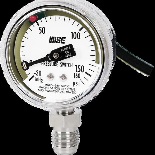 Đồng hồ áp suất công tắc áp suất siêu sạch P841 P842 P843