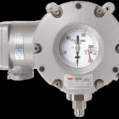 Đồng hồ áp suất + công tắc áp chống cháy nổ P990 (Explosive proof)
