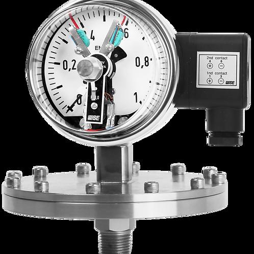 Đồng hồ áp suất (tiếp điểm điện) P501 P502