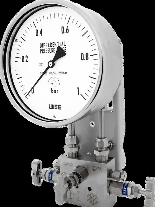Đồng hồ áp suất chênh áp P620 P630 (inox toàn bộ)