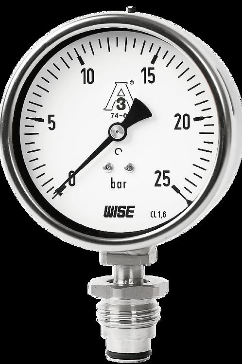 Đồng hồ áp suất chuẩn 3A thực phẩm P753S