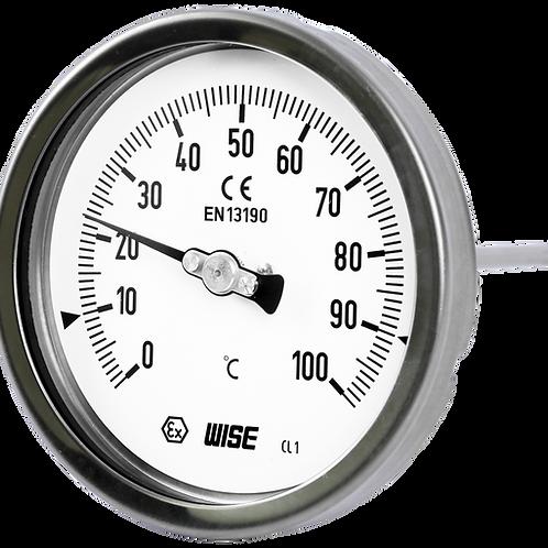 Đồng hồ nhiệt độ T110 (inox toàn bộ)