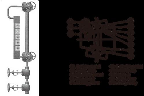 Thước đo mức hai màu loại multi-port L510
