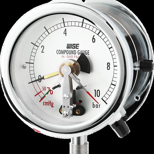 Đồng hồ áp suất (tiếp điểm điện) P542 P543