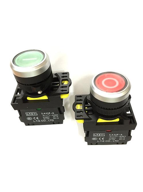 Nhấn nhả không đèn Ø 22 (loại kiểu) LA115-A5 series