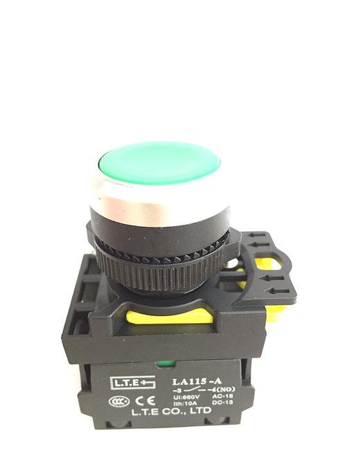 Nhấn nhả không đèn Ø 22 (loại lồi) LA115-A5 series