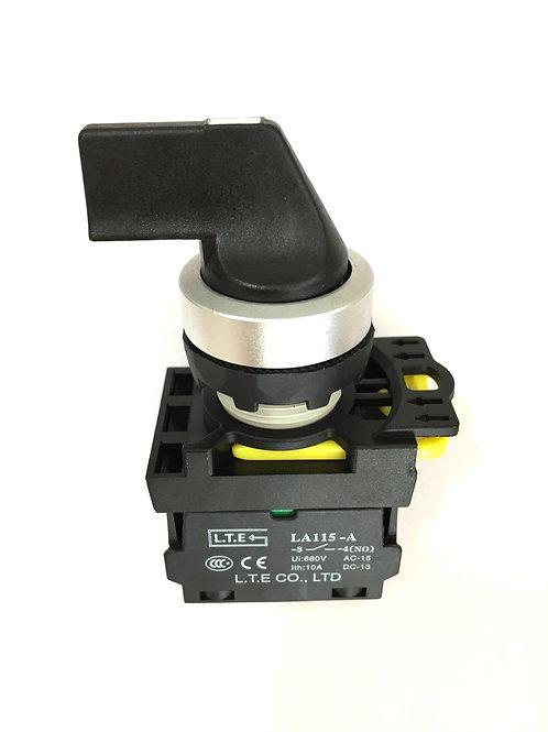 Công tắc chọn 2 hoặc 3 vị trí không đèn (cần dài) - LA115-A5 series