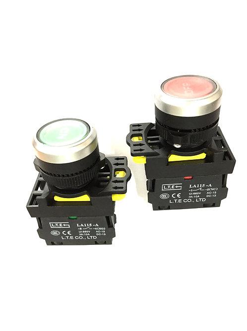 Nhấn giữ không đèn Ø 22 (loại kiểu) LA115-A5 series