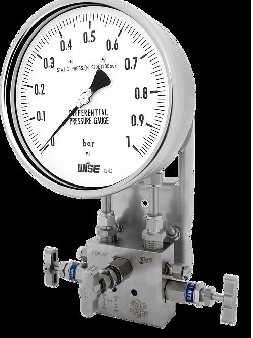 Đồng hồ áp suất chênh áp P671, P672, P673