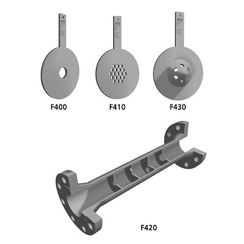 Restriction orifice plate F400 series F400, F410, F420, F430