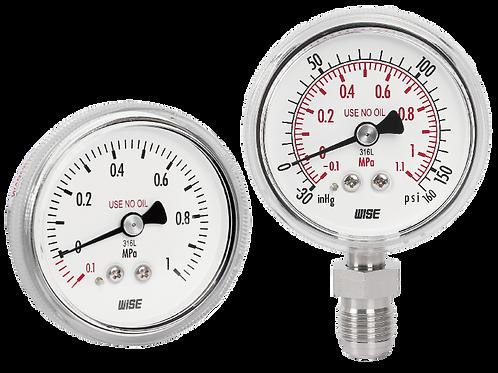 Đồng hồ áp suất siêu sạch P810
