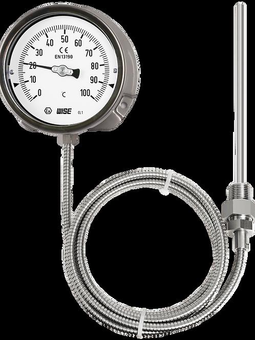 Đồng hồ nhiệt độ T210 (loại dây dài tối đa 10M, inox toàn bộ)