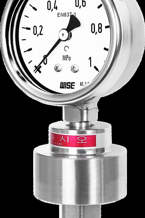 Đồng hồ áp suất màng loại compact P701