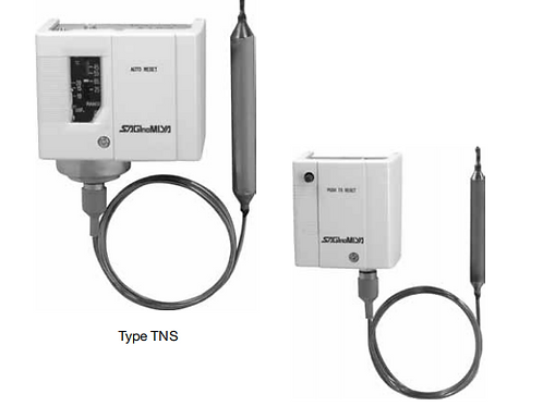 Bộ ổn nhiệt (Công tắc nhiệt) TNS, CNS & INS-series