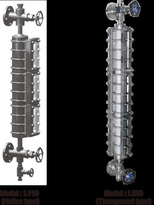 Large chamber type thước đo mức L110 (loại reflex) L210 (loại transparent)