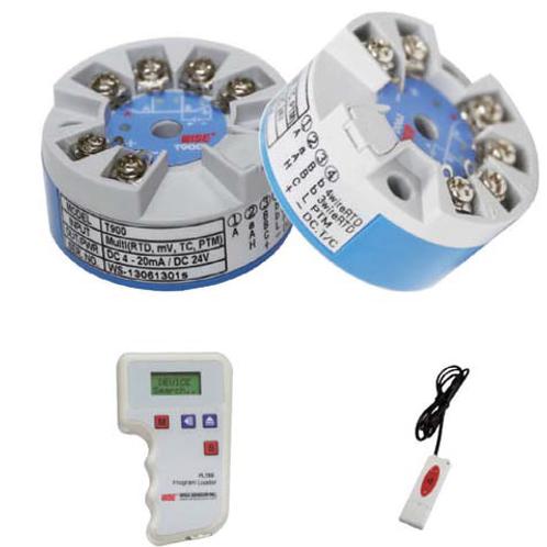Cảm biến nhiệt Pt100A/B hoặc K+ điều khiển từ xa programable