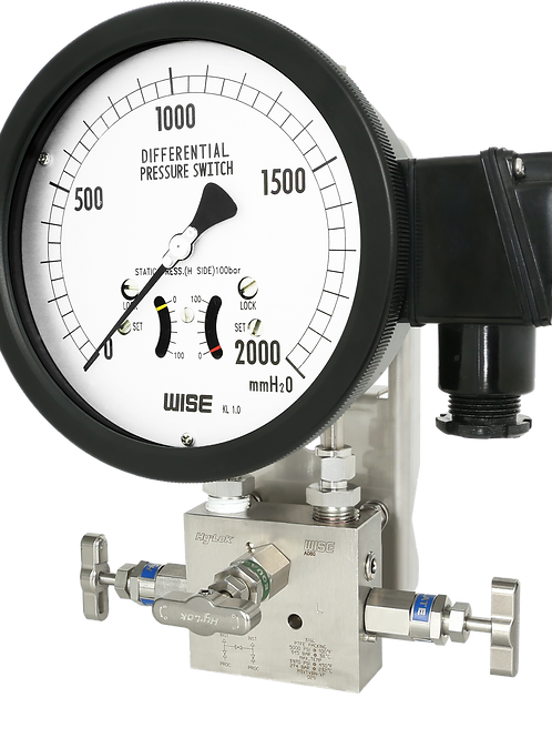 Đồng hồ Công tắc áp suất chênh áp P641 P642