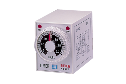 Timer H3-**S/M/H (Second, Minutes, Hours)