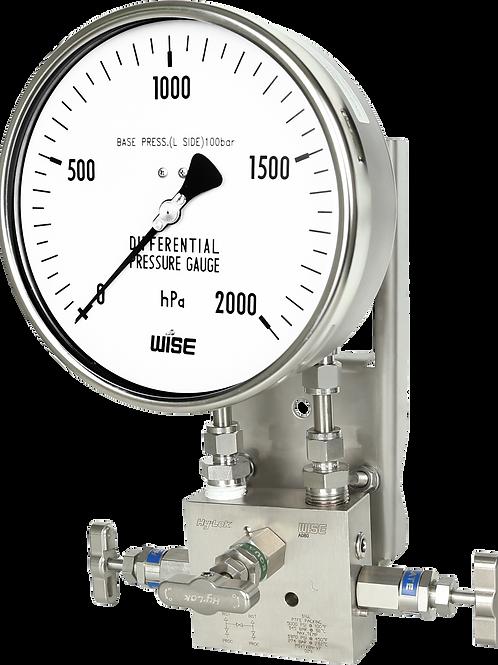 Đồng hồ áp suất chênh áp P661 P662