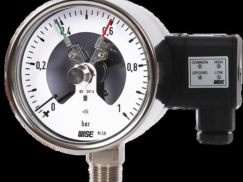 Đồng hồ áp suất (tiếp điểm điện) P520