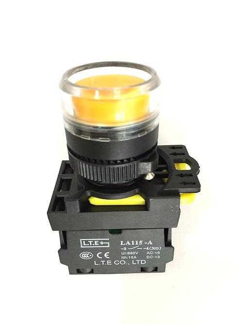 Nhấn giữ không đèn Ø 22 (loại phẳng) LA115-A5 series