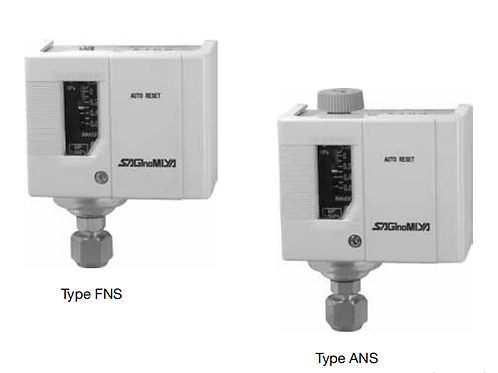 Công tắc (điều khiển) áp suất FNS ANS-series (Brass -đồng)