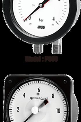Đồng hồ áp suất chênh áp P336 P338
