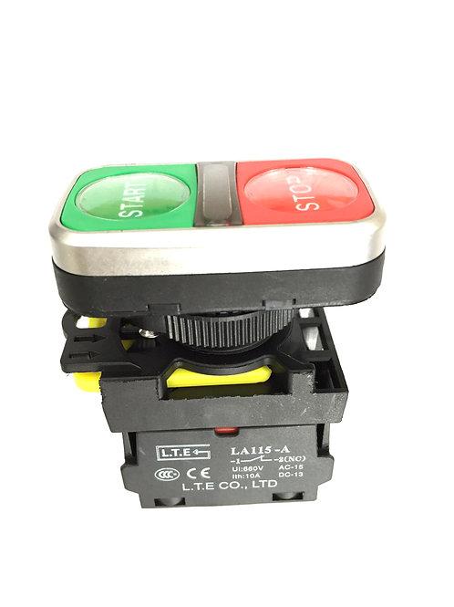 Nhấn giữ không đèn Ø 22 (loại đôi) LA115-A5 series