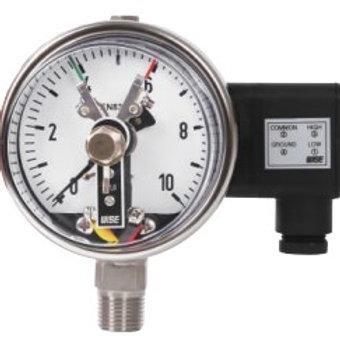 Đồng hồ áp suất (tiếp điểm điện) WISE P510