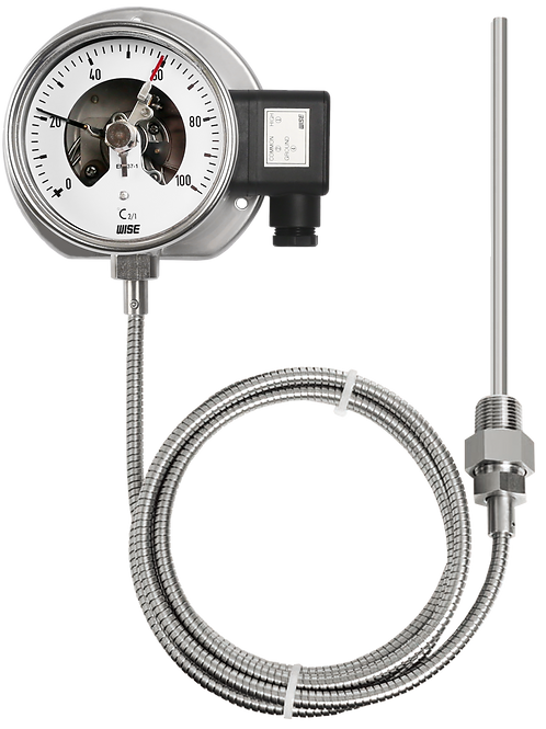 Đồng hồ nhiệt độ (tiếp điểm điện electrica) T521 T522 T523 T524 T525 T526