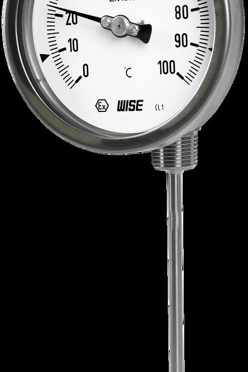 Đồng hồ nhiệt độ T190 (gấp khúc 90° - adjustable stem)