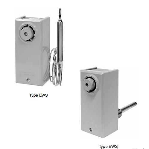 Bộ ổn nhiệt (Công tắc nhiệt) LWS, FWS, RWS & EWS-series