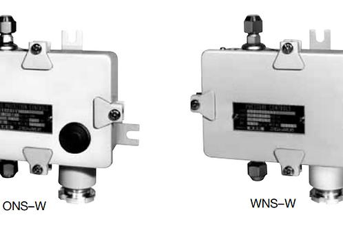 Công tắc (điều khiển) áp suất chênh áp ONS-W WNS-W (Drip proof)