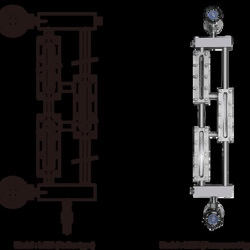 Thước đo mức loại zig-zag L120 (loại reflex) L220 (loại transparent)