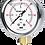 Thumbnail: Đồng hồ áp suất P254 (vỏ inox chânđồng)