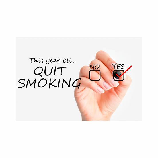 Fully Personalised Stop Smoking Recording