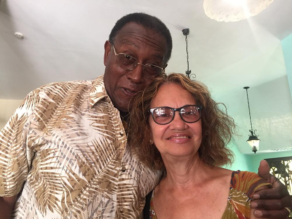 Dr. H. Prentice Baptiste, NAME founder & Tour Guide Rita Pereira Ramirez