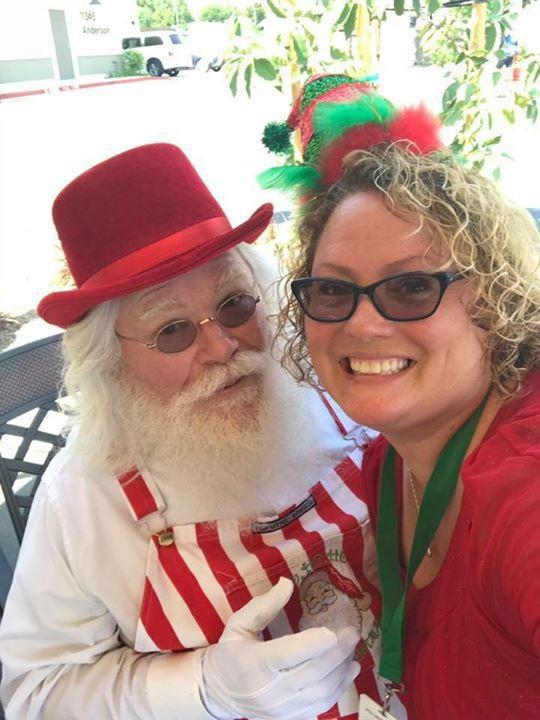 Santa aka Lorrin Montag Sr. & June Bug Mel