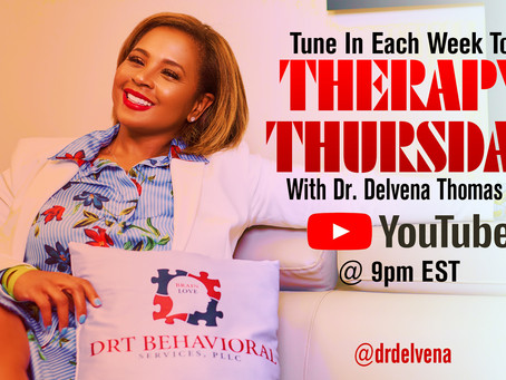 Don't miss this week's Therapy Thursday!