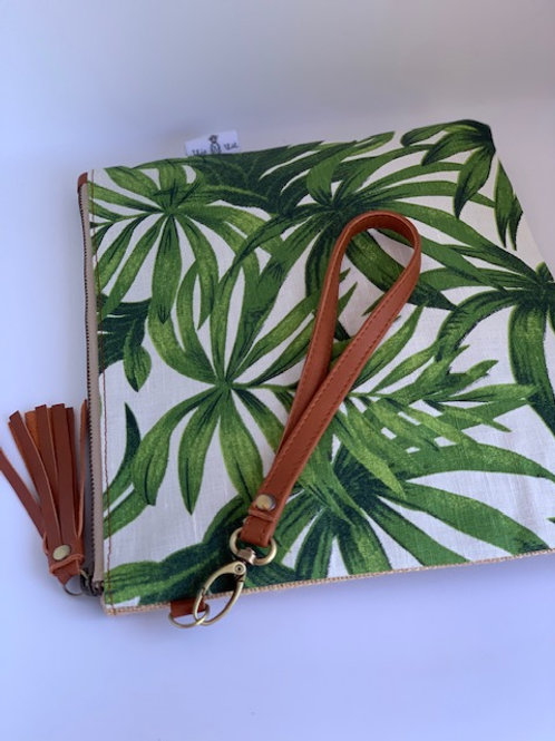 Green Palm - Chelsea Clutch