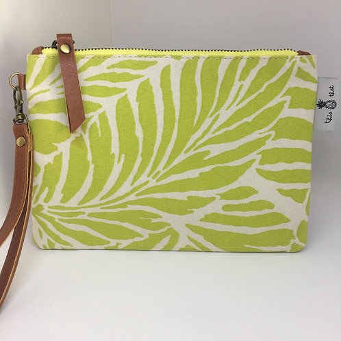 Lime Leaves - Lulu Clutch