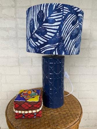 Blue Leaf - Lampshade